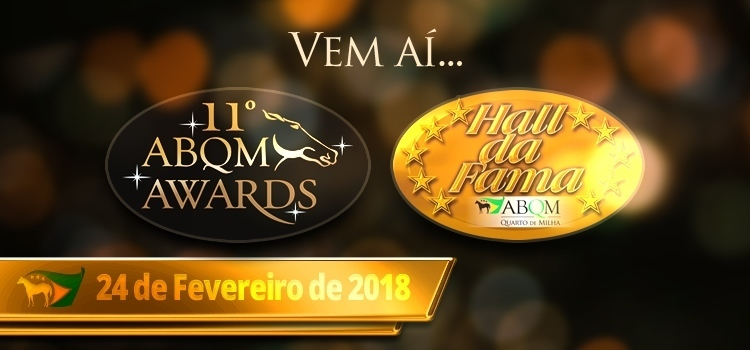 ABQM Awards e Hall da Fama 2018