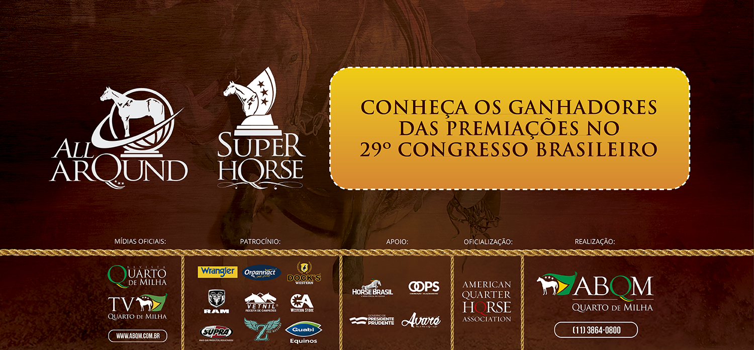 Os destaques do Super Horse e All Around do 29º Congresso